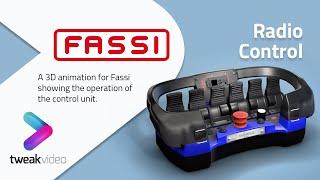 Fassi 3D Crane Project Radio Remote Control HD