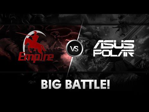 Big battle! by Team Empire vs ASUS.Polar @Major All Stars Dota 2 Tournament