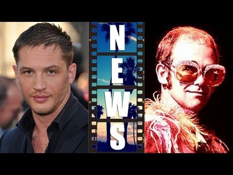 Tom Hardy is Rocketman Elton John, Sandra Bullock in Annie 2014 - Beyond The Trailer