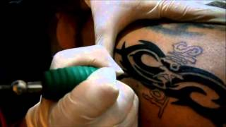 Watch Design Tattoo video