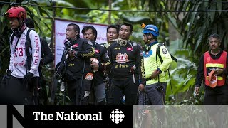 Trapped Thai soccer team faces complex rescue