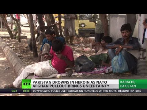 Drowning in Drugs: Heroin cheaper than food in Pakistan