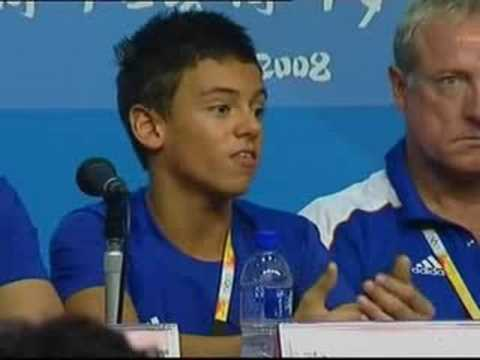 Tom Daley- beijing olympic experience
