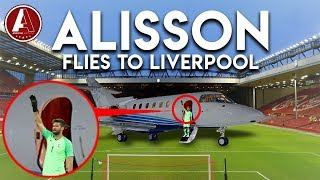 ALISSON BID ACCEPTED, FLIES TO LIVERPOOL! | LFC Transfer News *LIVE*