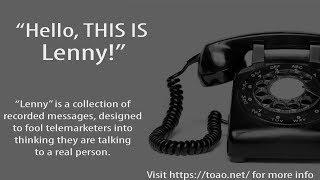 Lenny VS Tech Scammer