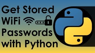 Get Stored WIFI Passwords With Python