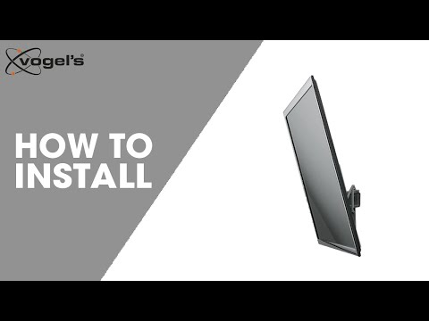 Installation video THIN 315 tilt wall mount