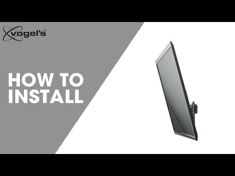 Installation video THIN 315 tilt wall mount
