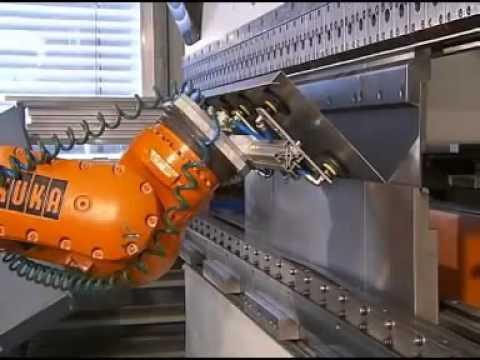 Automatic Robotic Sheet Metal Bending – Dubai
