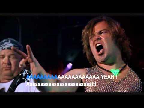 Tenacious D - Master Exploder [karaoke] video