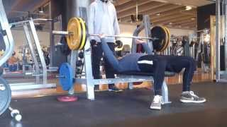 Bench Press 120 KG 21y