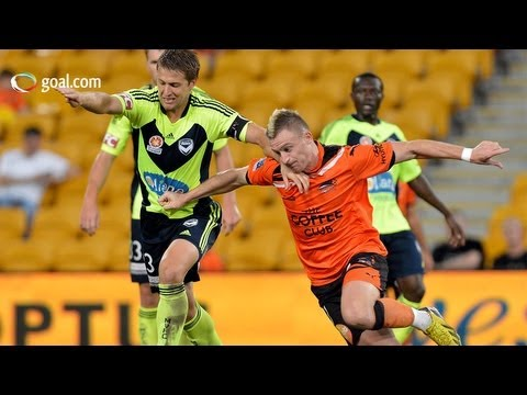 Brisbane Roar vs Melbourne Victory - A-League highlights