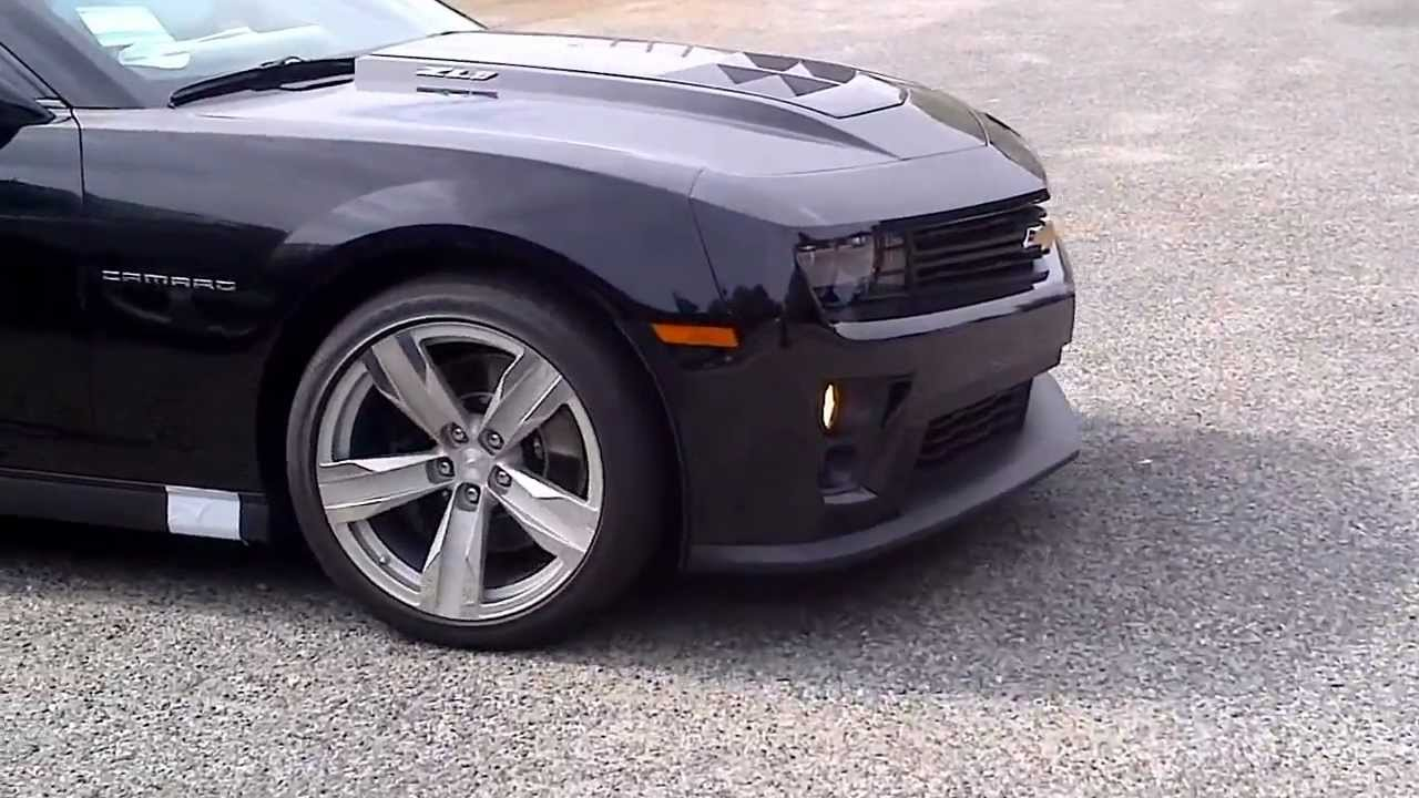 Black Zl1 Camaro Gets Delivered Youtube