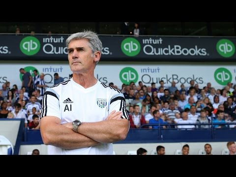 Alan Irvine previews West Bromwich Albion's Barclays Premier League fixture at Southampton