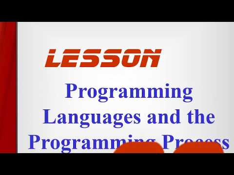 Computer Basic Course Part 27 -Programming Languages and the Programming Process