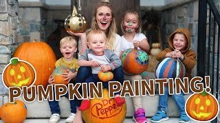 PUMPKIN PAINTING PARTY!