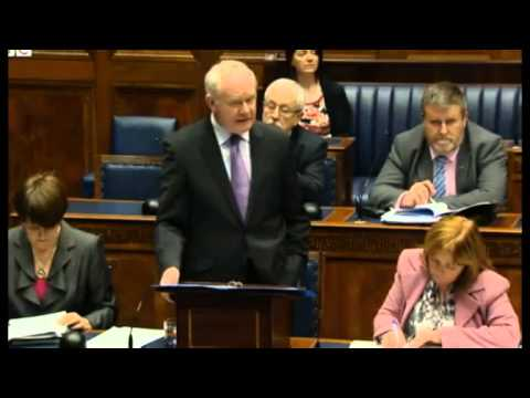 Martin McGuinness mixes up his IRA and IFA