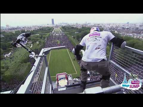 Golden Challenges Taïg Khris Défi Taïg Saut Tour Eiffel Record du Monde Officiel