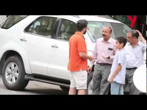 The Kid Smoking Experiment in India: stop smoking