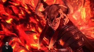 Teostra Full Fight, First Attempt Victory! Monster Hunter: World Elder Dragon