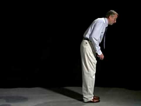 Parkinsonian Gait Demonstration