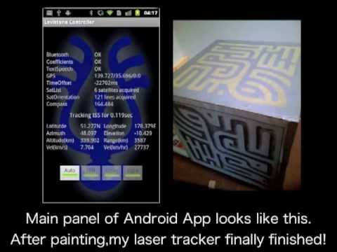 Levistone - Satellite Laser Tracker