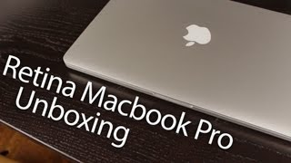 New 13 MacBook Pro Unboxing, Retina Display 13-inch 2012 Unboxing