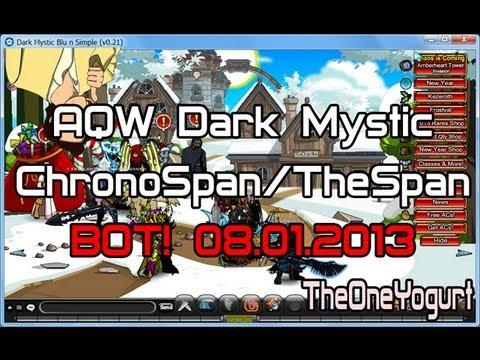 AQW Dark Mystic ChronoSpan Bot! NEW 08.01.2013 =NON MEM=