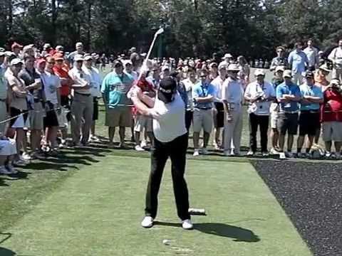 """The """"Mechanic"""": Miguel Angel Jimenez Golf Swing Slow Motion Golf Swing"""
