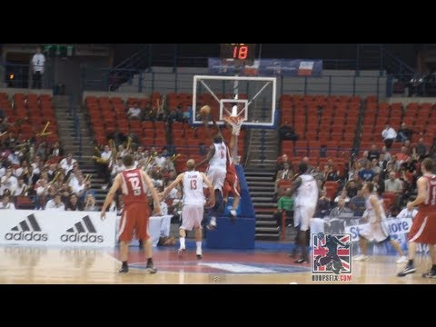 Luol Deng Game Saving Block - GB vs Hungary - Eurobasket Qualifier