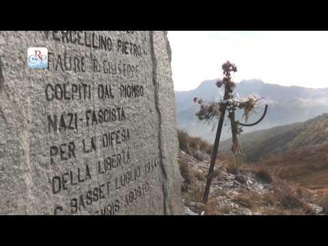 Per i caduti della Liberazione - Commemorazione al Sestrière