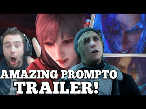 Final Fantasy XV Episode Prompto DLC Trailer Reaction: Ardyn, Verstael & ARANEA!