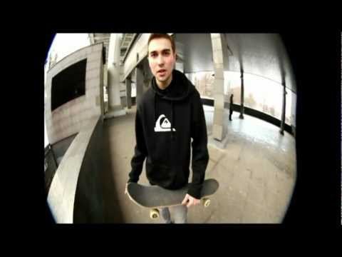 Видео как кататься на скейте
