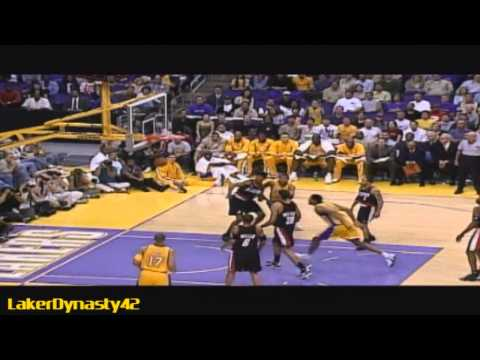 2001-02 Los Angeles Lakers Championship Season Part 1/4