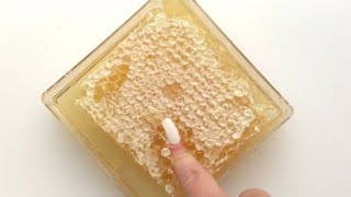 ASMR CUTTING HONEYCOMB COMPILATION // diySatisfying