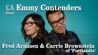 Fred Armisen And Carrie Brownstein Are UBER Sensitive | Los Angeles Times