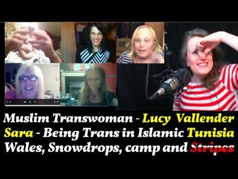 Transgender Zone Vlog Episode  18 September 9th, 2013   Lucy Vallender, Islam And Stripes
