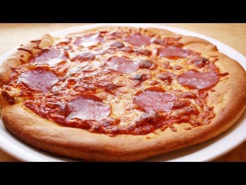 REZEPT: PIZZA HUT PAN PIZZA  - zu Hause schnell selbstgemacht