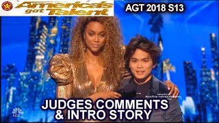Shin Lim FULL JUDGES COMMENTS & FULL INTRO STORY America's Got Talent 2018 Finale AGT