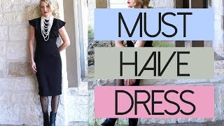 Five Ways To Style Your Little Black Dress | Fashion Over 40
