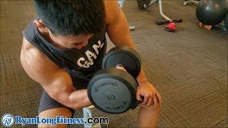 Tập Gì Mau Lên Chuột - Top 3 Bài Tập Tay Tạ Đơn Tốt Nhất - HLV Ryan Long Fitness