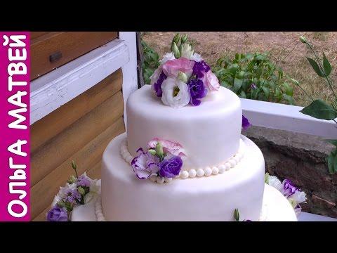 Украсить свадебный торт своими руками в домашних условиях 33