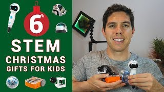 6 educational STEM Christmas gifts for creative kids!