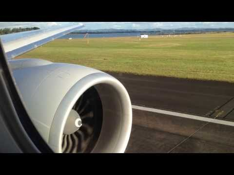 Air New Zealand Boeing 777-300ER Takeoff from Auckland to Los Angeles