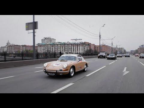 Празднование 50-летия Porsche 911 в Москве