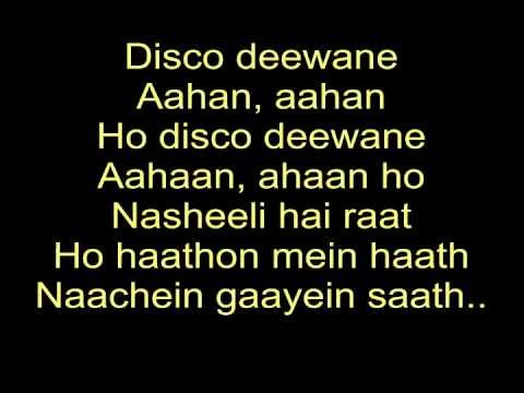 The Disco Song - Disco Deewane | Student Of The Year | Lyrics video