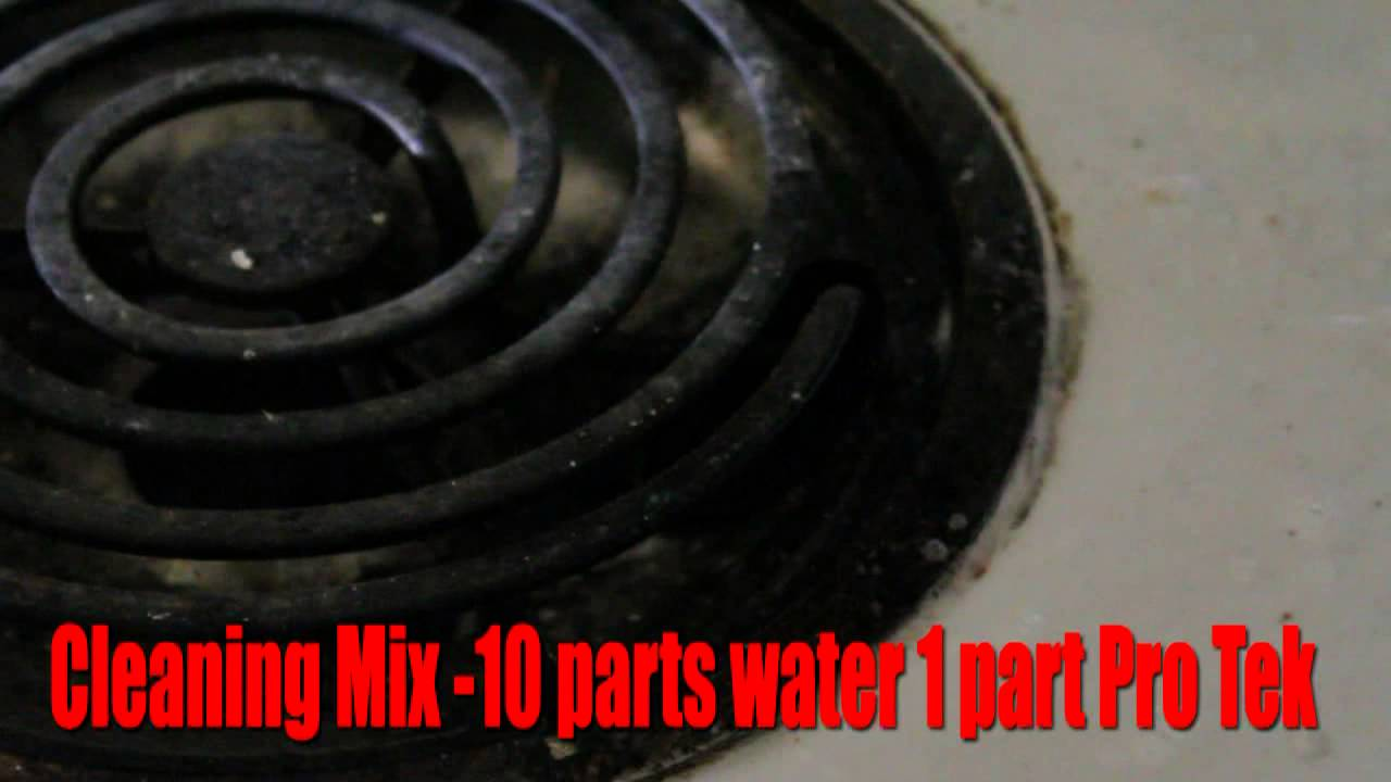 Clean burnt stove top, how to remove burnt food from your stove, with PRO TEK - YouTube
