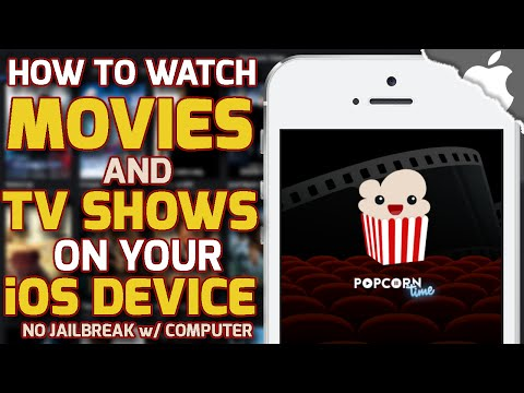 How To Get POPCORN TIME on your iOS Device! 8.3 and below (No JAILBREAK) iPhone iPad iPod Touch