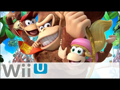 Donkey Kong Country : Tropical Freeze - Gameplay duo - Family Geek