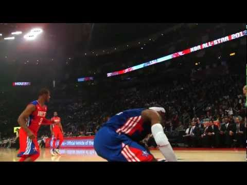 Check out the best highlights from the 2013 All-Star game in Houston in super slow motion, as game MVP Chris Paul, Kobe Bryant, and their fellow All-Stars sh...